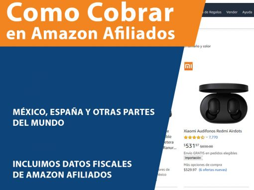 Como cobrar en Amazon Afiliados