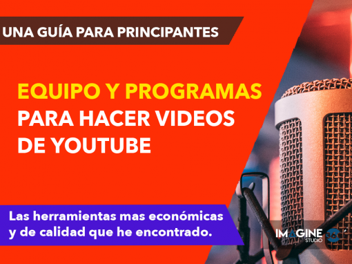 Programas para hacer Videos de Youtube