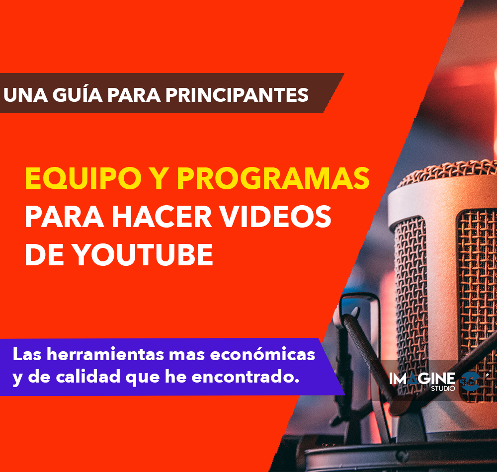 Programas para hacer videos en Youtube