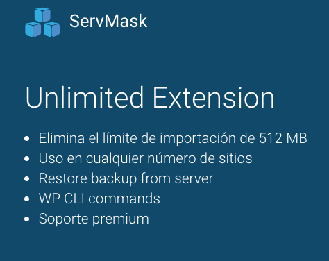 all in one WP unlimited extension