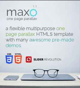 maxo one page Square